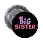 Princess Big Sister Pinback Button