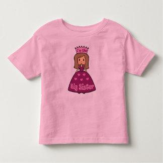 Princess Big Sister Toddler T-shirt