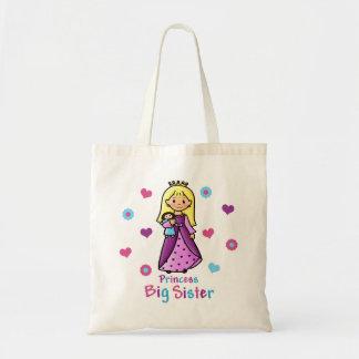 Princess Big Sister Tote Bag