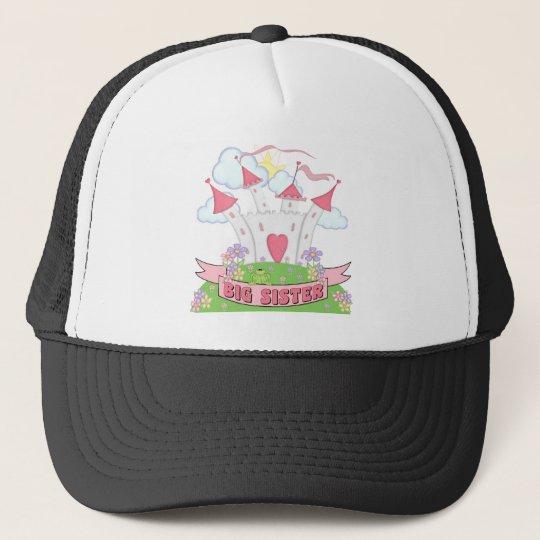 PRINCESS BIG SISTER TRUCKER HAT