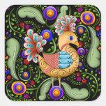 Princess Birdie w/Background Stickers