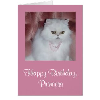 princess greeting cards  zazzle, Birthday card