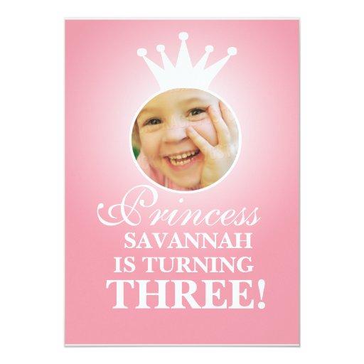 Princess Birthday Card
