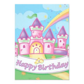 Princess Birthday Personalized Invitation