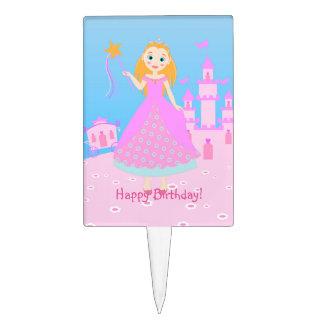 Princess Birthday Party Cake Pick