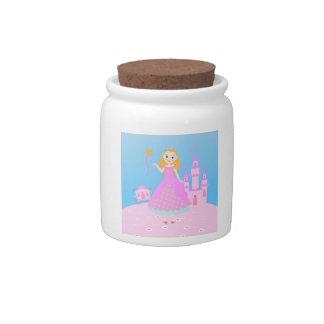Princess Birthday Party Candy Jar