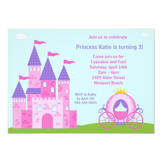 Princess birthday party invitation zazzle princess birthday party invitation filmwisefo