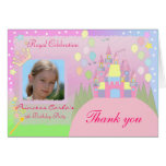 Princess Birthday Party Invitation 022C Stationery Note Card