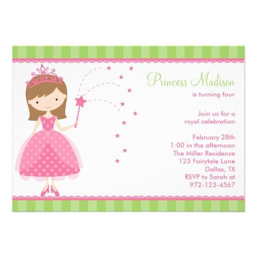 Princess Birthday Party Invitations from Zazzle.com