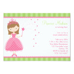 Princess Birthday Party Invitations Announcement