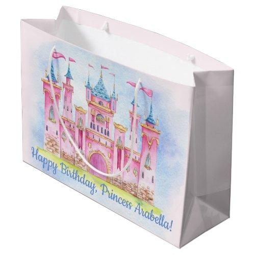 Princess Birthday Party Large Gift Bag