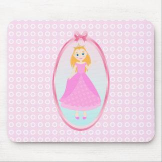 Princess Birthday Party Mouse Pad
