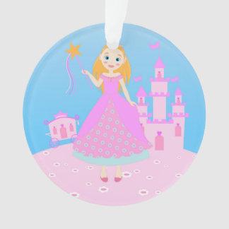 Princess Birthday Party Ornament