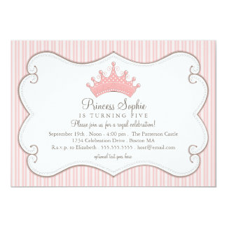 Princess Birthday Party Invitations gangcraftnet
