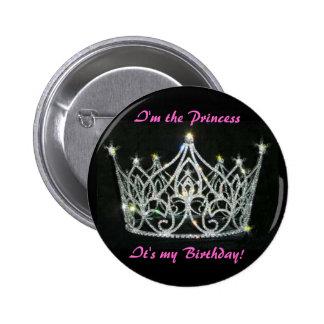 PRINCESS BIRTHDAY PIN