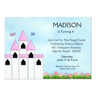 Princess Birthday/Tea Invitations