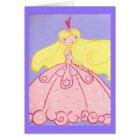 Princess Birthday Wishes Card