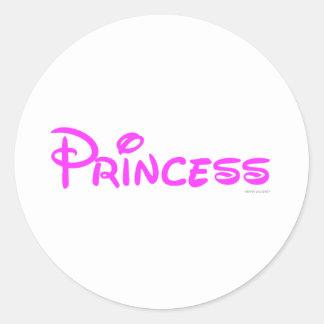 Princess BK Classic Round Sticker