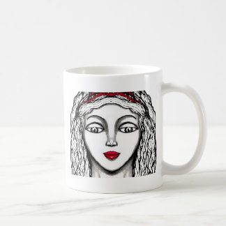 Princess Black and White Design CricketDiane Coffee Mug