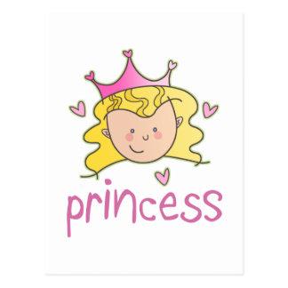 Princess Blonde Postcard