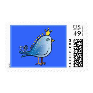 Princess Blue Bird Postage