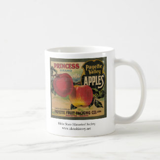Princess Brand Payette Valley Apples Coffee Mugs