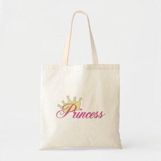 Princess Budget Tote Bag