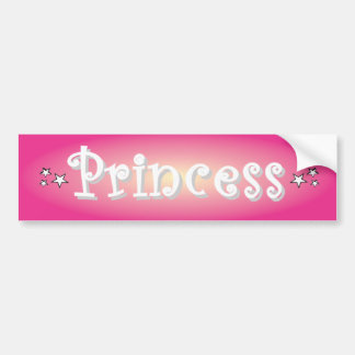 Princess Bumper Sticker