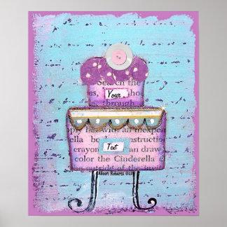 Princess Cake Print