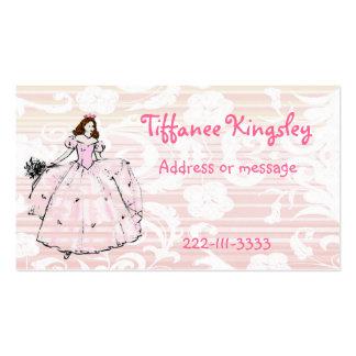Princess Calling Card Business Cards