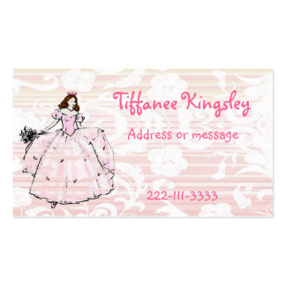 Princess Calling Card Double-Sided Standard Business Cards (Pack Of 100)