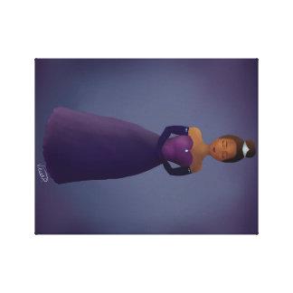 Princess Canvas Digital Painting