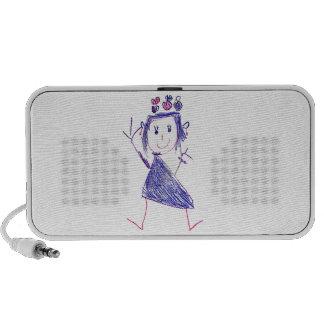 Princess Carolina Mini Speaker