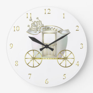 Princess Carriage Clock