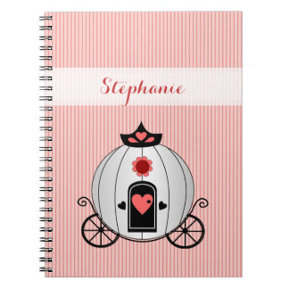 Princess Carriage Notebook