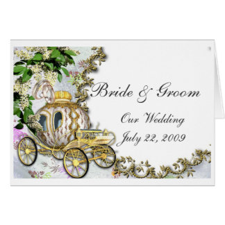 Princess Carriage Wedding Invitation
