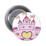 Princess castle buttons