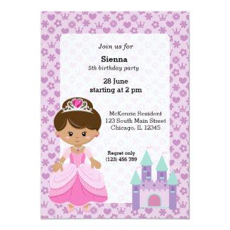Princess & Castle Card