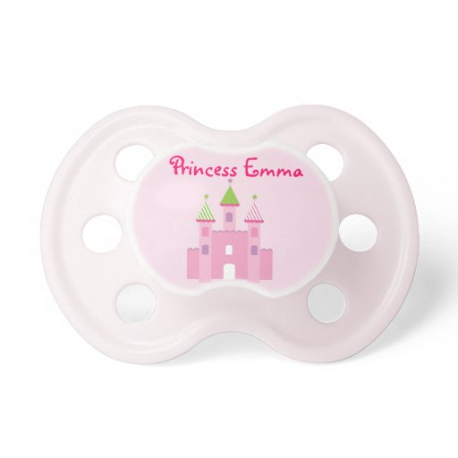 Princess Castle Fairy Tale Personalized Pacifier