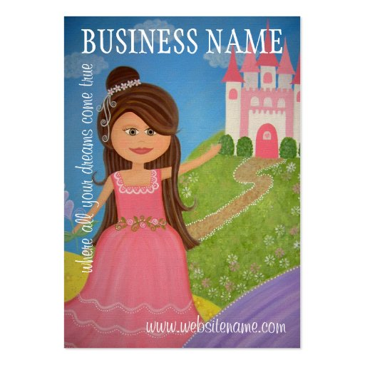 Princess Castle - Hang Tags & Business Cards (*)