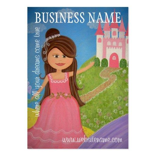 Princess Castle - Hang Tags & Business Cards (*)