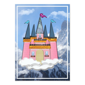 Princess Castle in th Cloudsin Mountains Card