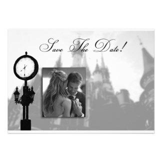 Princess Castle Save the Date Wedding Invitation