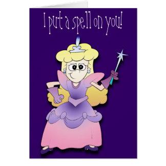 Princess Casts a Spell Card