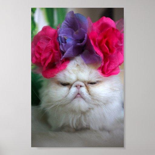 Princess Cat Print