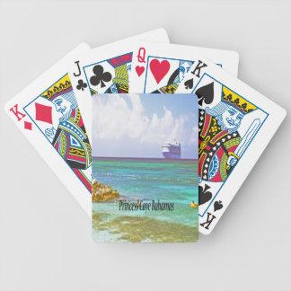 Princess Caye, Bahamas Bicycle Playing Cards