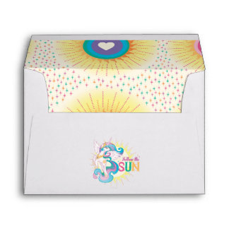 Princess Celestia Banner Envelope