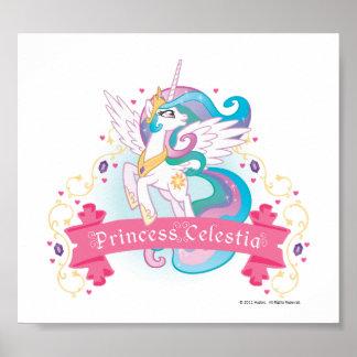 Princess Celestia Banner Poster