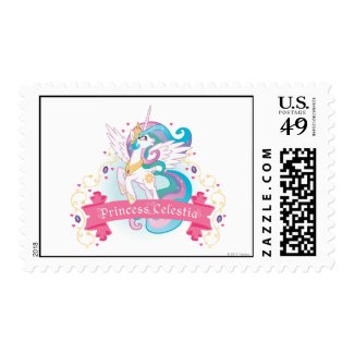 Princess Celestia Banner stamp