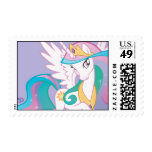 Princess Celestia Postage Stamp